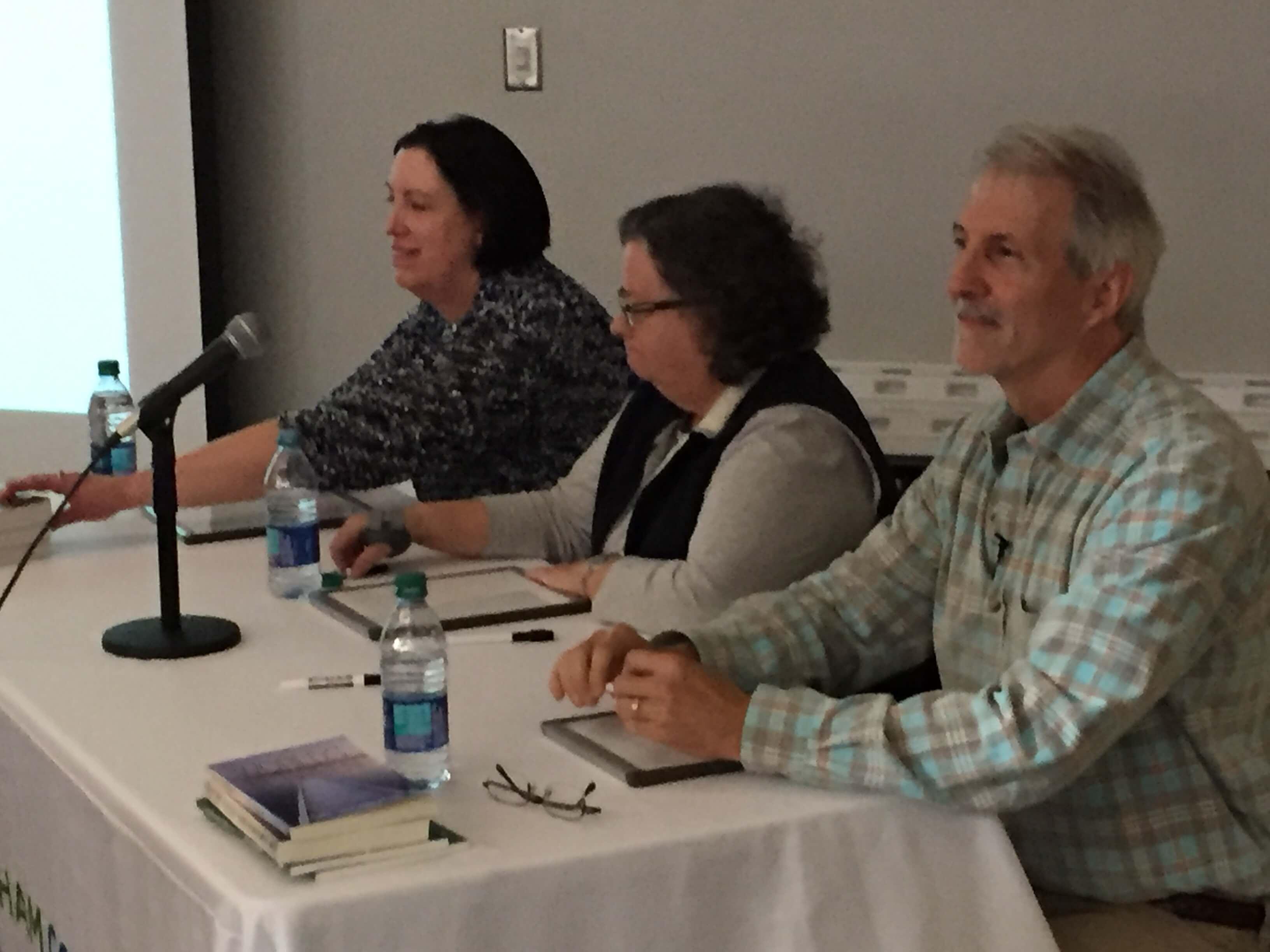 Grammartopia - Durham panelists